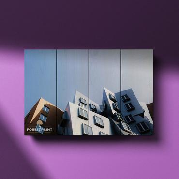 Картина на доске Архитектура №3