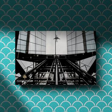 Картина на доске Архитектура №5