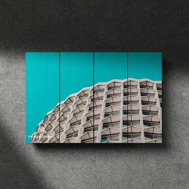Картина на доске Архитектура №6