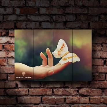 Картина на доске Бабочка №1