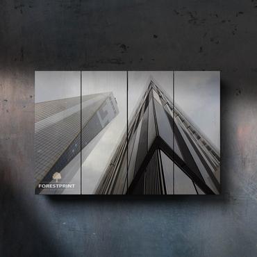 Картина на доске Архитектура №7