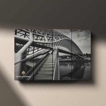 Картина на доске Архитектура №8