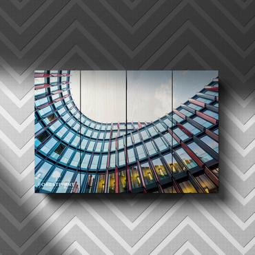 Картина на доске Архитектура №9